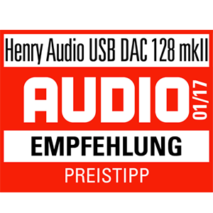USB DAC Test 01/17 - Audio Magazin Logo