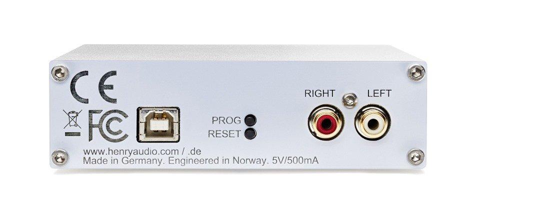 USB DAC 128 Mk 3 rear